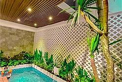 Thiết kế nội thất nhà ống tài tình: Nhà 50m2 vẫn có hồ bơi, vườn sân thượng