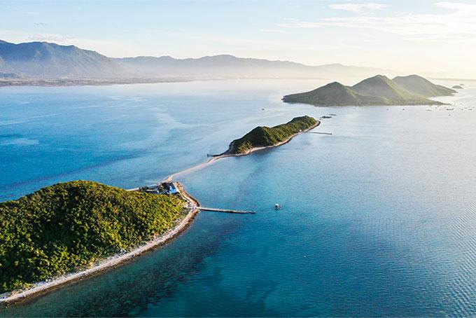 Du lịch đảo Điệp Sơn với con đường giữa biển độc đáo