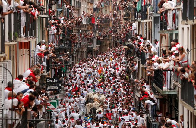 Tây Ban Nha - Lễ hội đấu bò tót San Fermin