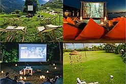 Đi du lịch cực chill với 5 rạp chiếu phim ngoài trời, nằm giữa núi rừng Mai Châu, sát bên bờ biển Phú Quốc đều có hết