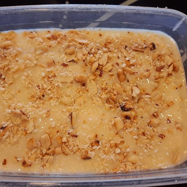 cashc làm kem chuối cốt dừa