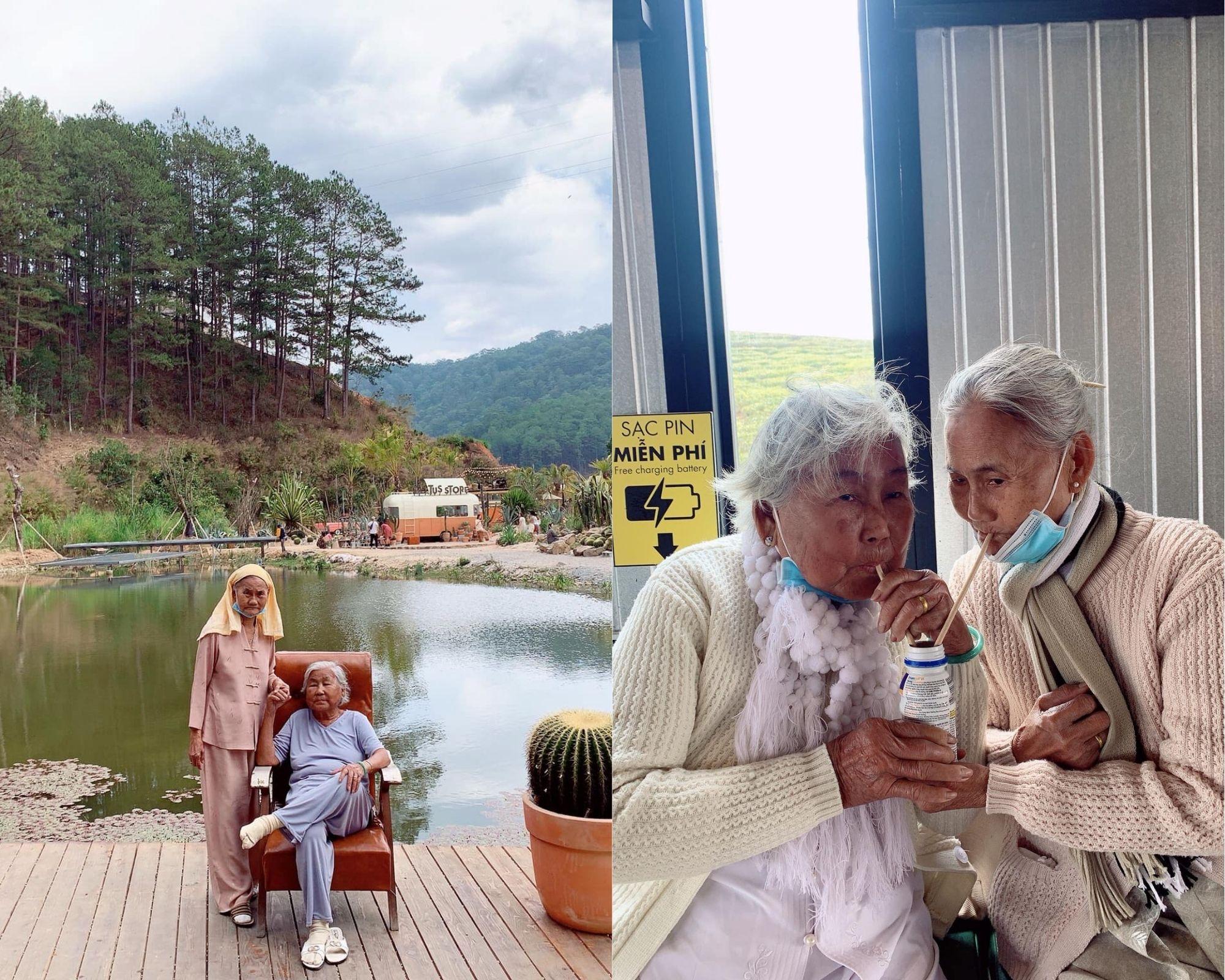 những cặp bạn già đi du lịch cùng nhau