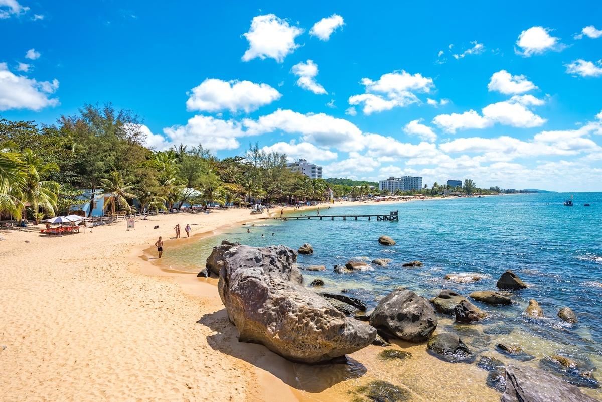Bãi Trường là một trong những bãi biển đẹp nhất tại Phú Quốc