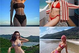 """Thời chưa Covid ảnh đi biển của các hot girl """"nóng bỏng mắt"""" thế này cơ mà, nhìn lại chỉ muốn xách bikini lên và đi ngay!"""
