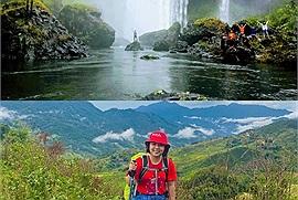 Cô gái 26 tuổi đi trekking để hòa mình vào thiên nhiên và giải tỏa áp lực cuộc sống