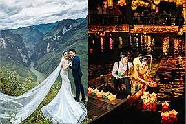"""Cặp đôi """"chị ơi, anh yêu em"""" và hành trình xuyên Việt chụp ảnh cưới: 15 ngày, 3 miền, 11 thành phố"""