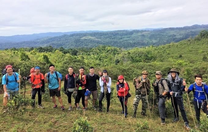 cô gái 26 tuổi mê trekking