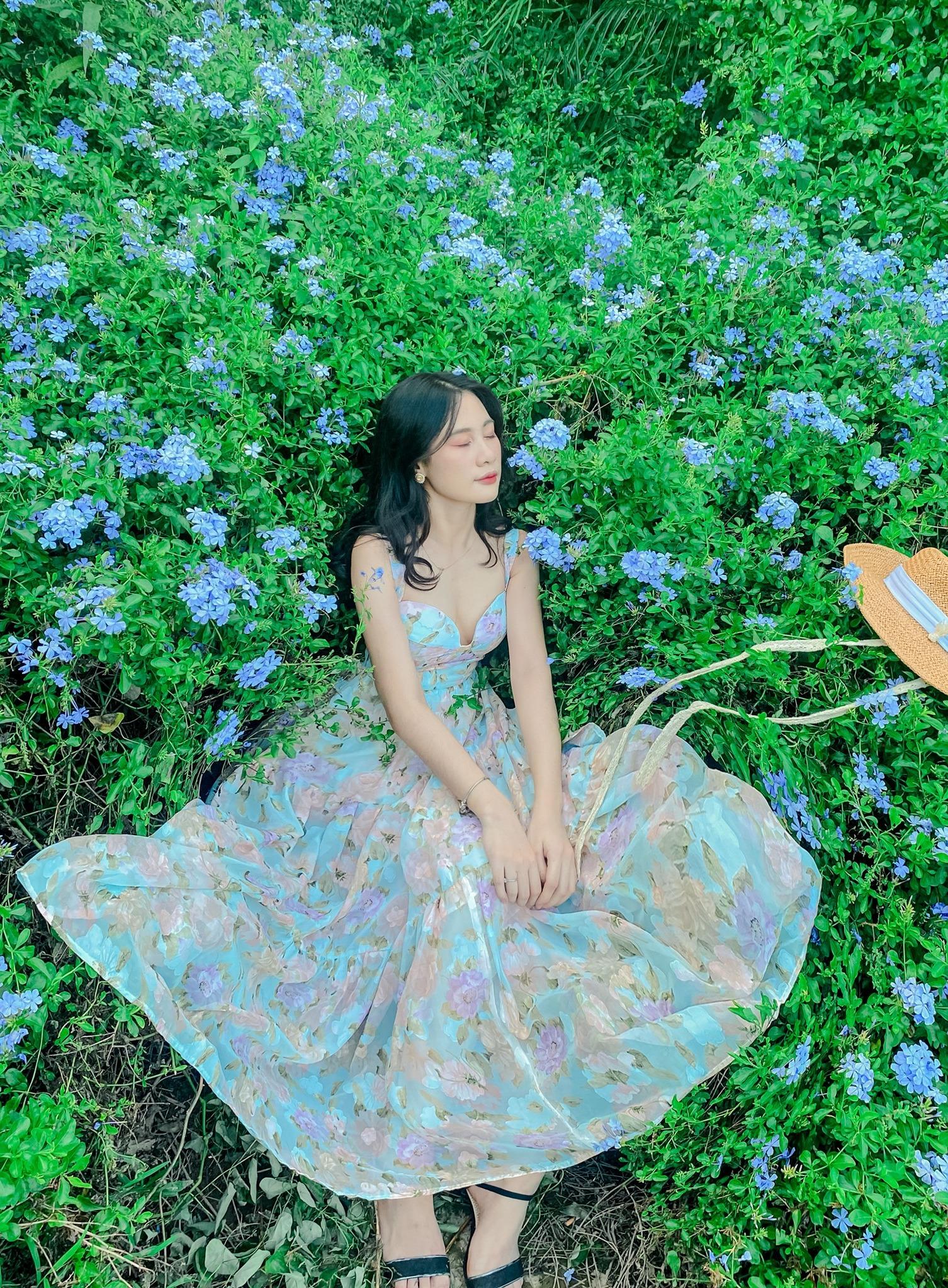 khu vườn đẹp như chốn tiên cảnh giữa lòng Hà Nội