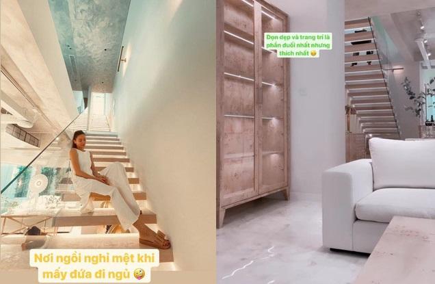 Thiết kế nội thất trong nhà Hồ Ngọc Hà