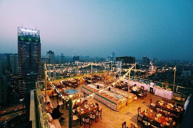 quán café có view đẹp nhất Hà Nội