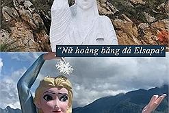 Giờ hỏi du lịch Sapa có gì, dân tình chỉ ngao ngán nhớ đến mấy bức tượng xấu điên đảo, trước là nữ thần tự do giờ là nữ hoàng băng giá Elsa