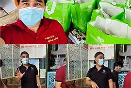 Bếp ăn từ thiện ngày đêm đỏ lửa của Quyền Linh, nấu hàng ngàn suất ăn, chuẩn bị thêm 3.500 bánh chưng cho người dân Sài Gòn