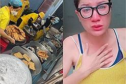 """Trang Trần khóc nấc vì bị chê làm màu và giả tạo khi từ thiện, tuyên bố """"không giúp được gì thì im đi"""""""