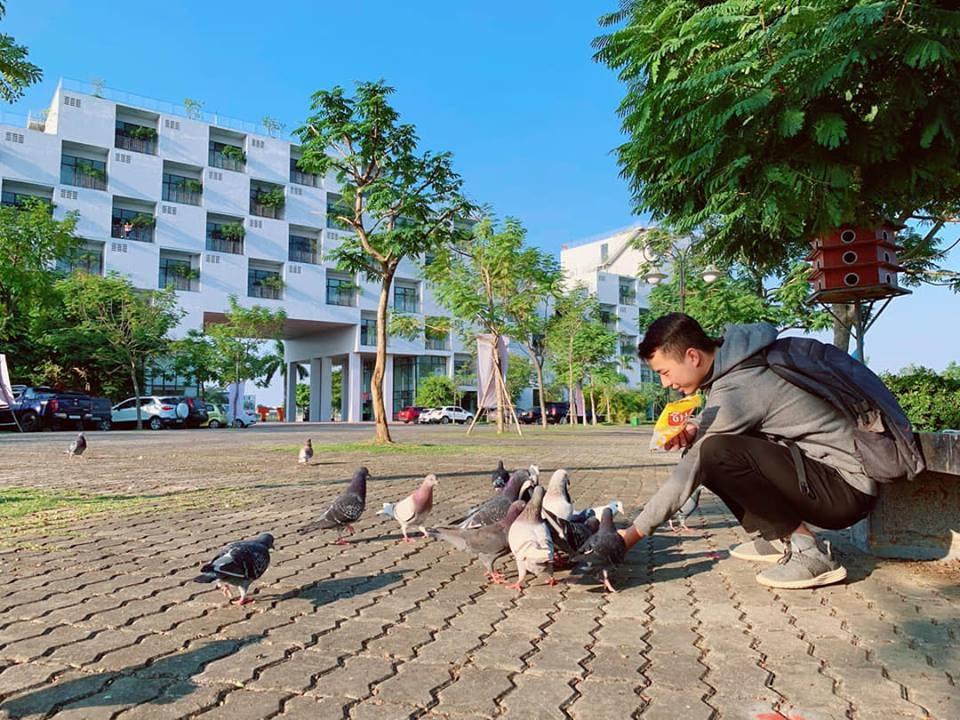 những góc siêu đẹp ở trường Đại học FPT Hà Nội