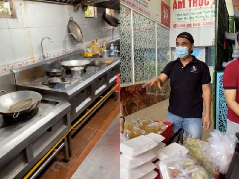 bếp ăn từ thiện của Quyền Linh