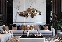 Bí quyết trang trí phòng khách với 12 vật dụng không thể thiếu