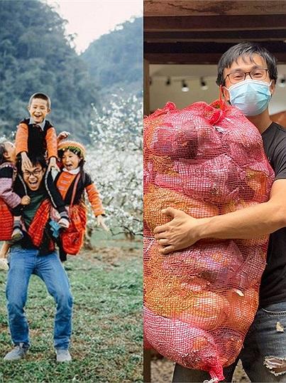 Chàng trai 9 năm đam mê xuyên Việt, 15 ngày dầm mình cứu trợ miền Trung hiện tại đang vận chuyển hàng chục tấn rau cho Sài Gòn