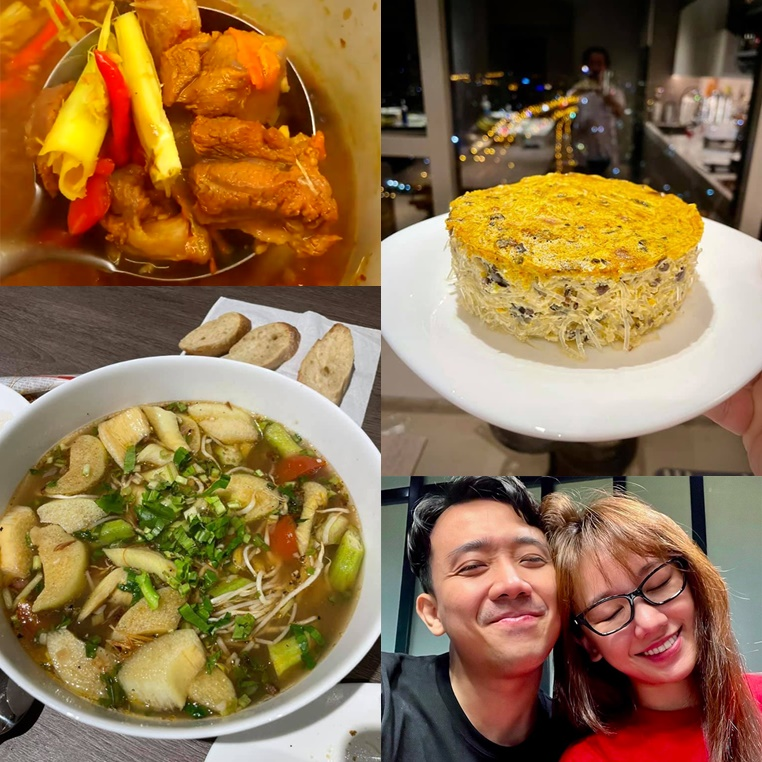 Hari Won bị chê 40 tuổi đến nơi làm gì cũng không ra hồn, nhưng cần gì đảm khi có người chồng nấu ăn ngon như Trấn Thành?