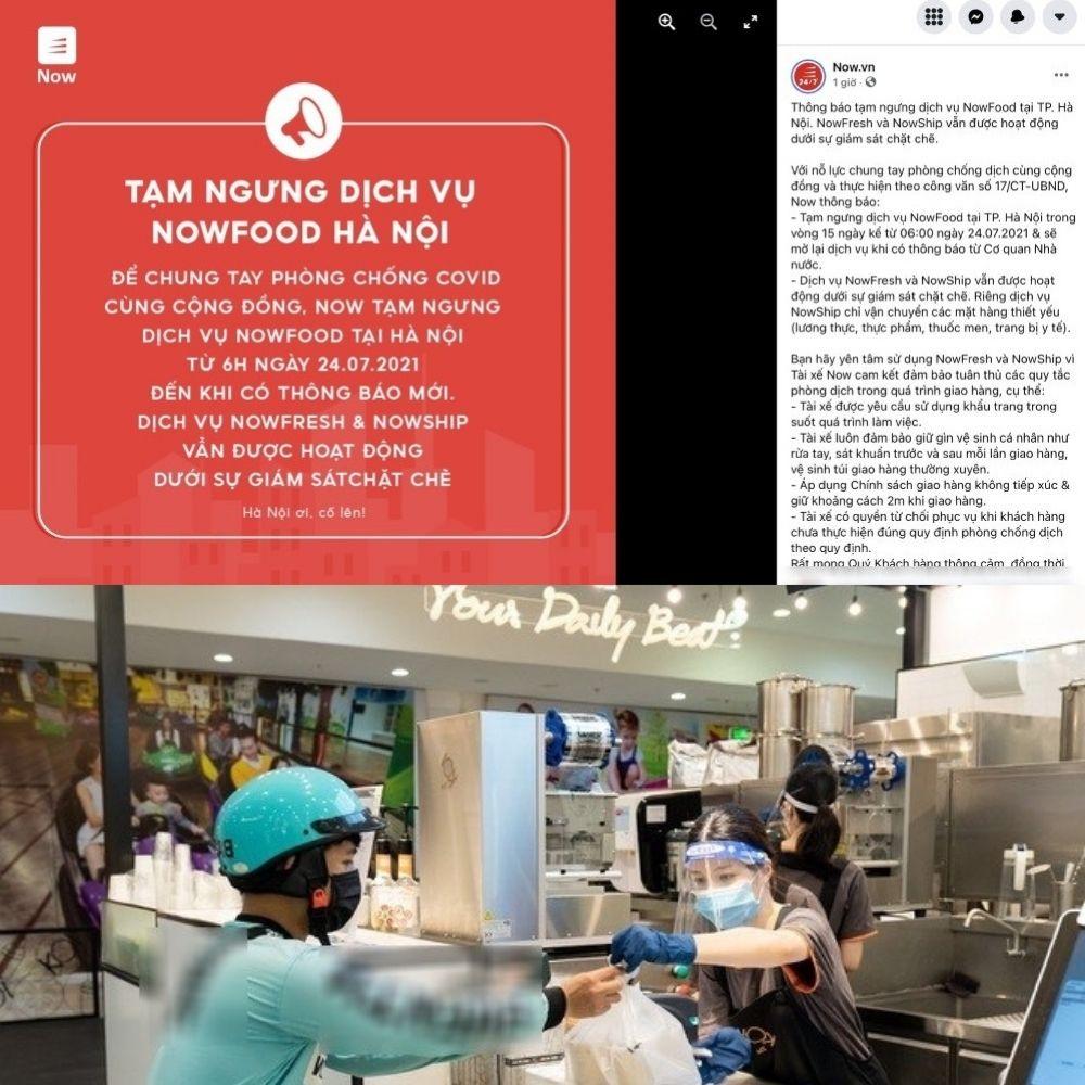"""Các ứng dụng giao đồ ăn công nghệ dừng hoạt động, tài xế bất ngờ còn netizens thì """"biết vậy hôm qua order 5 cốc trà sữa"""""""