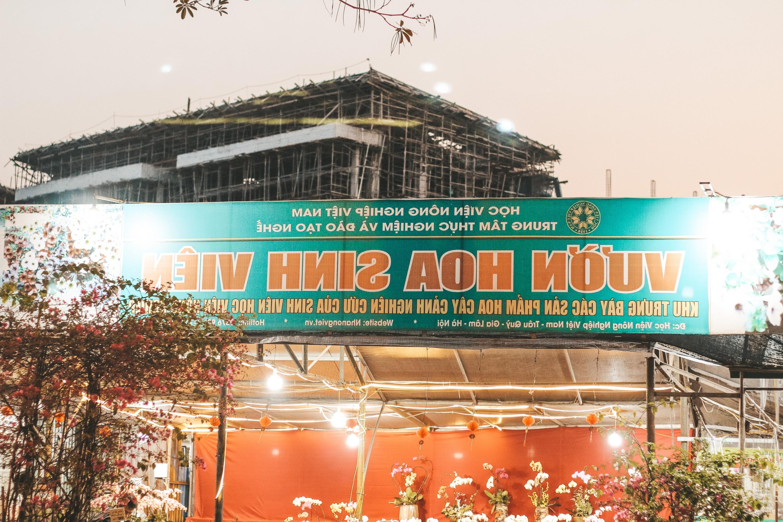 không gian sống ảo tại Học viện nông nghiệp Việt Nam
