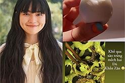 """Sau Hari Won, Khánh Vân tiếp tục có """"thù"""" với trứng, bóc cái vỏ thôi mà nó """"lủng"""" như này đây!"""