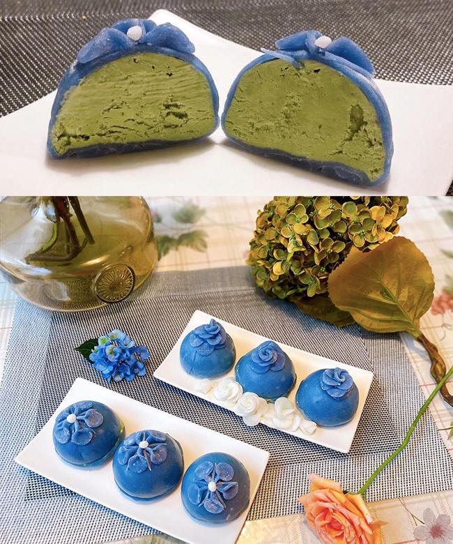 Ở nhà làm món ăn vặt healthy giải nhiệt với kem mochi matcha kiểu Nhật