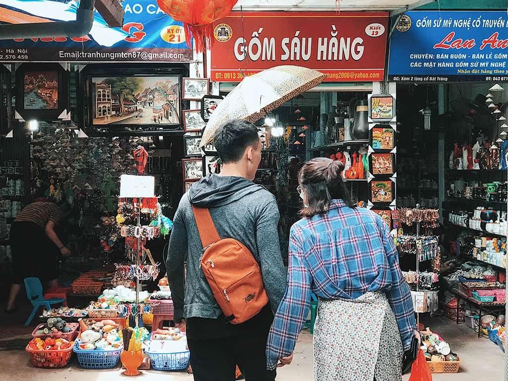 chợ gốm