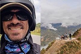 """Người đàn ông Nga 6 năm phượt xe máy khám phá khắp nẻo Việt Nam - nơi """"giống như quê hương thứ hai"""" của anh"""
