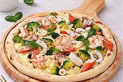Ở nhà mùa dịch không lo đói với cách làm bánh Pizza hải sản siêu ngon, siêu hấp dẫn