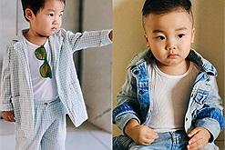"""Chán kiểu tóc của """"người thừa kế"""", bé Bo nhà Hòa Minzy chuyển sang style """"bụi bặm"""" bao ngầu"""