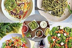 """Tuyệt chiêu để làm ra một số món ăn ngon nằm """"trọn vẹn"""" trong 5 công thức salad dưới đây"""