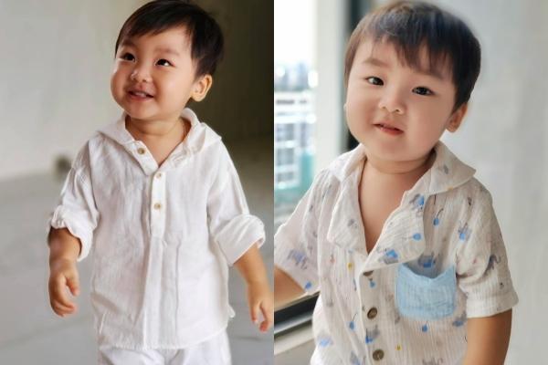 Trang phục của bé Bo luôn được mẹ đầu tư kĩ lưỡng