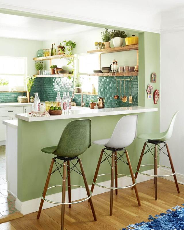 phòng bếp nhỏ nổi bật