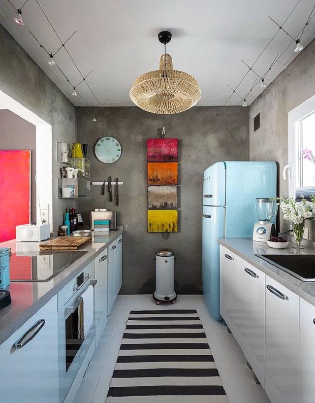 phòng bếp nghệ thuật