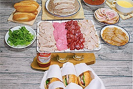 Có món ăn ngon Việt Nam nào gây thương nhớ mùa dịch bằng bánh mì, không ra ngoài được thôi thì rủ nhau vào bếp với công thức bánh mì từ A-Z