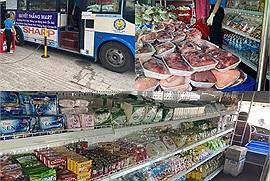 Những hành khách đặc biệt mùa dịch trên xe buýt, chẳng chở người mà chở đầy những thực phẩm phục vụ người dân
