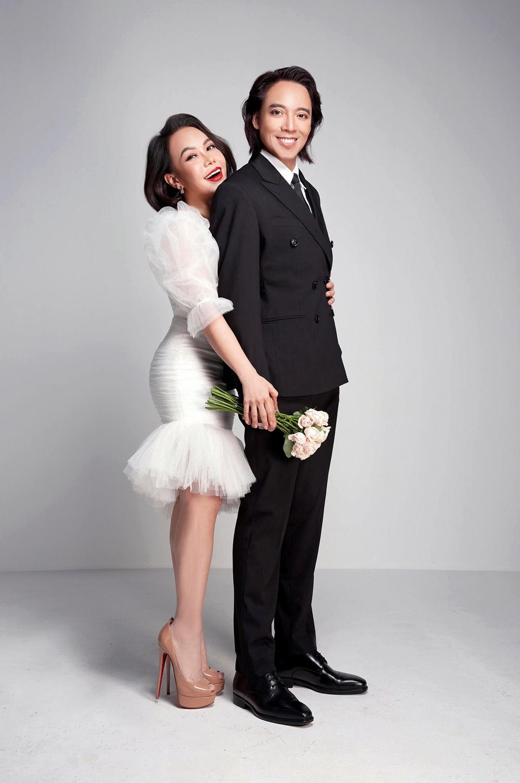 vợ chồng Việt Hương - Hoài Phương