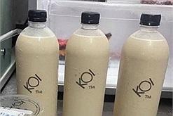Ơn giời, cuối cùng KOI Thé cũng cho ra mắt chai trà sữa size 500ml và 1 lít bán online mùa dịch này rồi