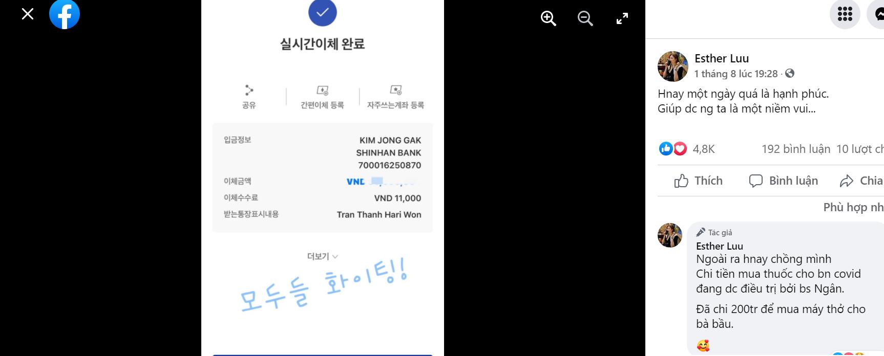Bài đăng của Hari Won
