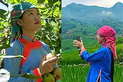 Mùa covid-19, cô gái dân tộc Giáy mở tour online đưa hàng nghìn người du lịch Sa Pa