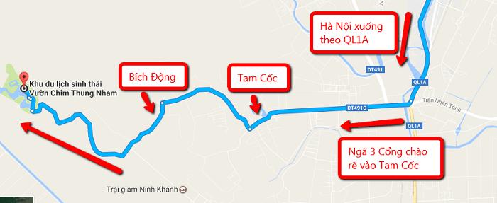Khám phá vườn chim Thung Nham
