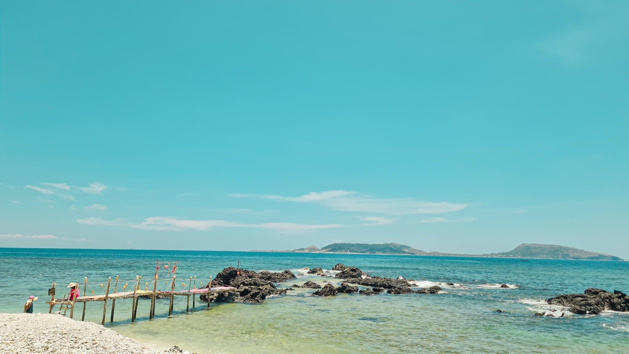 lịch trình du lịch đảo Lý Sơn, đi đâu, ăn gì