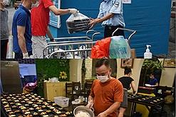 Nghỉ dịch Covid-19, chủ nhà hàng ở Hà Nội nấu cơm dành tặng các y bác sĩ chống dịch
