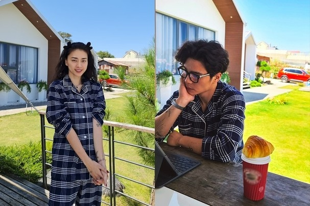 """Ngô Thanh Vân - Huy Trần tung ảnh """"hò hẹn"""" tại Na Uy"""