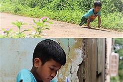 """Điều kỳ diệu dành cho cậu bé M'Nông đến trường bằng 2 tay: em có """"đôi chân mới"""" đi học"""