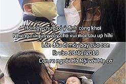 Hòa Minzy khoe body nuột nà sau chưa đầy 8 tháng sinh Bo thúi trong vlog đi biển lần đầu của Bo
