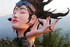 """Sau tượng Nữ thần tự do và tượng Elsa, Sa Pa lại xuất hiện tượng đầu người """"chưa thể gọi tên"""""""