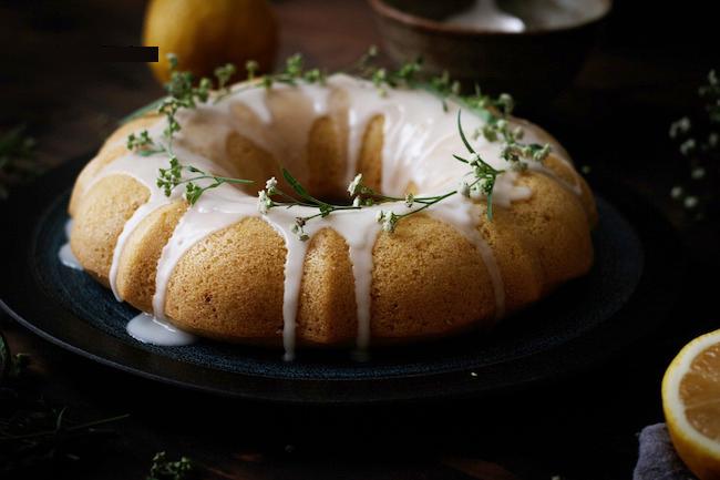 bánh nướng chanh vàng