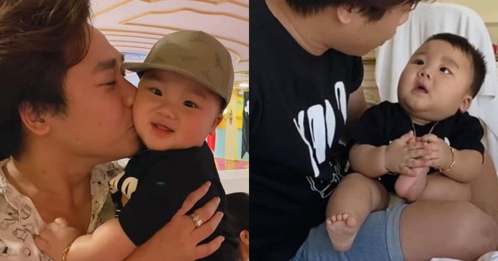bé Bo và bố