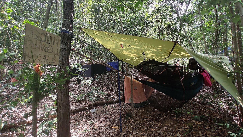 """Hành trình """"trốn dịch"""" 45 ngày của nhóm bạn 4 người: cắm trại trên núi Dinh ở Vũng Tàu"""
